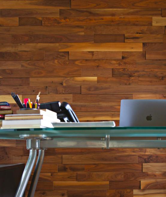 Wall panel Walnut natur